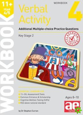 11+ Verbal Activity Year 4/5 Workbook 4