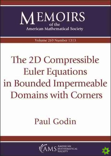 2D Compressible Euler Equations in Bounded Impermeable Domains with Corners