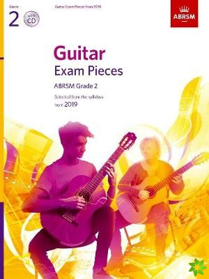 Guitar Exam Pieces from 2019, ABRSM Grade 2, with CD