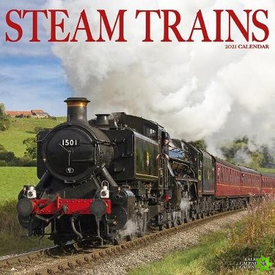 Steam Trains 2021 Wall Calendar