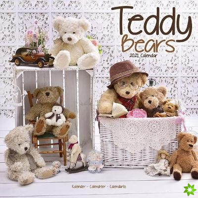 Teddy Bears 2021 Wall Calendar