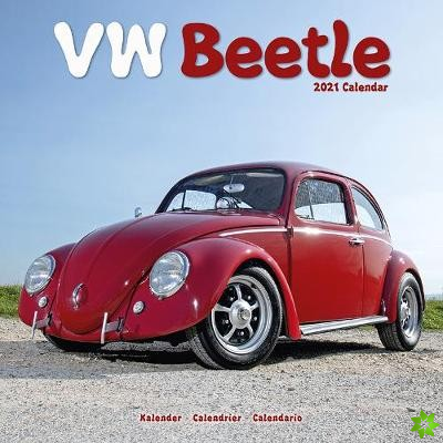 VW Beetle 2021 Wall Calendar