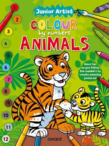 Junior Artist Colour By Numbers: Animals
