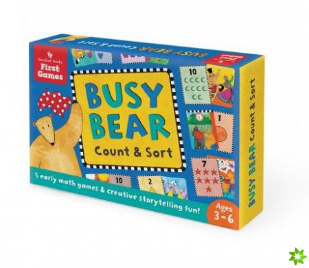 Busy Bear Count and Sort Game