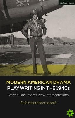 Modern American Drama: Playwriting in the 1940s