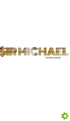 Gold graphic sir Michael branded Blank page Creative Note journal