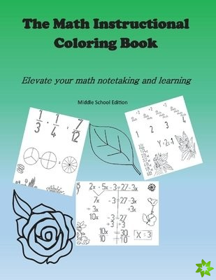 Math Instructional Coloring Book