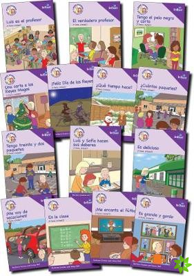 Learn Spanish with Luis y Sofia, Part 2 Storybook Pack, Years 5-6