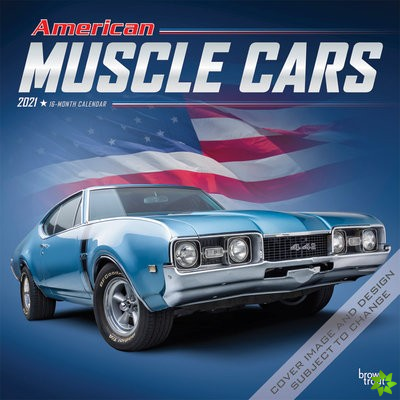 AMERICAN MUSCLE CARS 2021 SQUARE FOIL