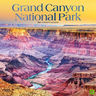 GRAND CANYON NATIONAL PARK 2021 SQUARE F