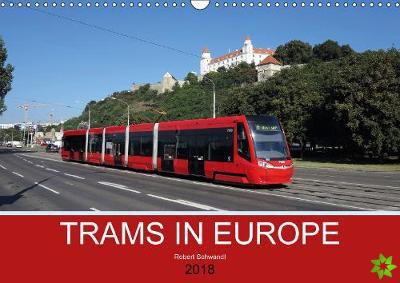 Trams in Europe 2018