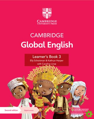 Cambridge Global English Learner's Book 3 with Digital Access (1 Year)