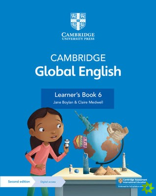 Cambridge Global English Learner's Book 6 with Digital Access (1 Year)