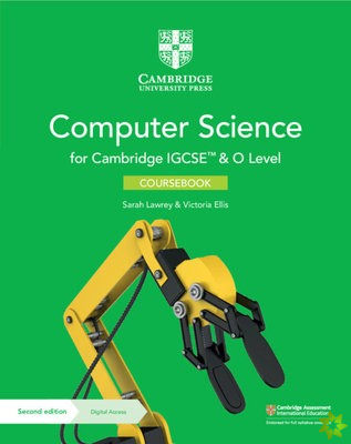 Cambridge IGCSE (TM) and O Level Computer Science Coursebook with Digital Access (2 Years)