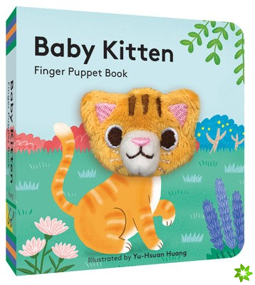 Baby Kitten: Finger Puppet Book