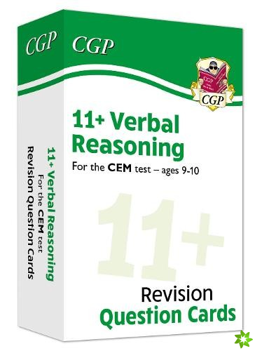 New 11+ CEM Revision Question Cards: Verbal Reasoning - Ages 9-10