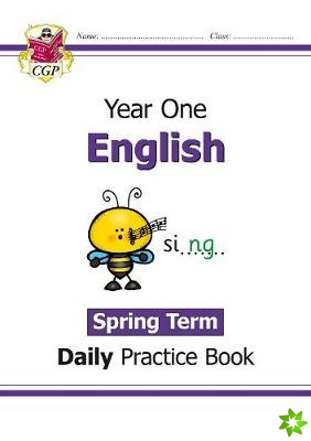 New KS1 English Daily Practice Book: Year 1 - Spring Term