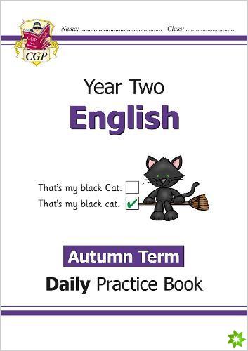 New KS1 English Daily Practice Book: Year 2 - Autumn Term