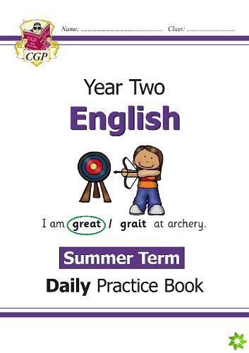 New KS1 English Daily Practice Book: Year 2 - Summer Term