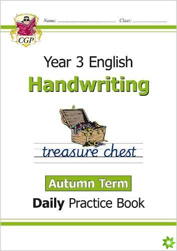New KS2 Handwriting Daily Practice Book: Year 3 - Autumn Term