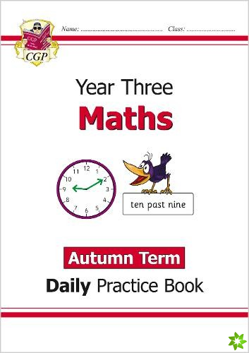 New KS2 Maths Daily Practice Book: Year 3 - Autumn Term