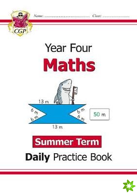 New KS2 Maths Daily Practice Book: Year 4 - Summer Term