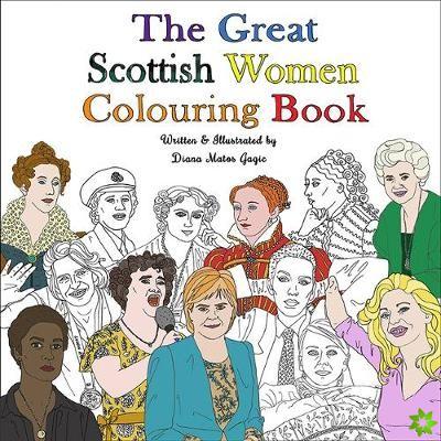 Great Scottish Women Colouring Book