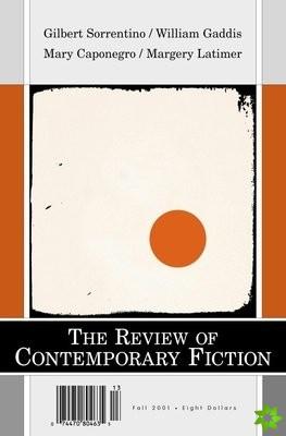Gilbert Sorrentino/Margery Latimer/Mary Caponegro/William Gaddis, Vol. 21, No. 3