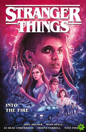 Stranger Things: Into The Fire (graphic Novel)