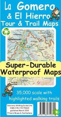 La Gomera & El Hierro Tour & Trail Super-Durable Maps