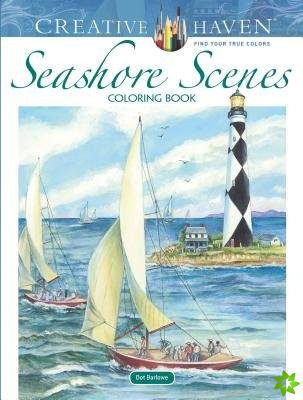 Creative Haven Seashore Scenes Coloring Book