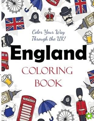 England Coloring Book