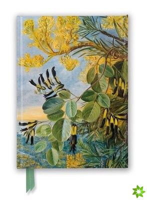 Kew: Marianne North: Flowers of the Flame-Tree and Yellow and Black Twiner, West Australia (Foiled Journal)