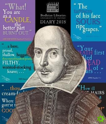 Bodleian Library - Shakespeare's insults Desk Diary 2018