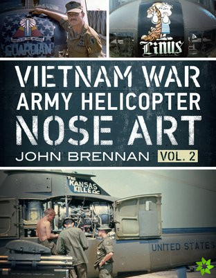 VIETNAM WAR ARMY HELICOPTER NOSE ART VL2
