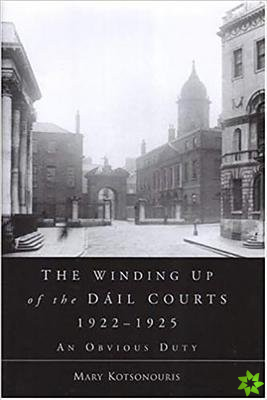 Winding Up of the Dail Courts, 1922-1925