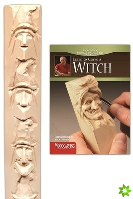 Learn to Carve a Witch Study Stick Kit
