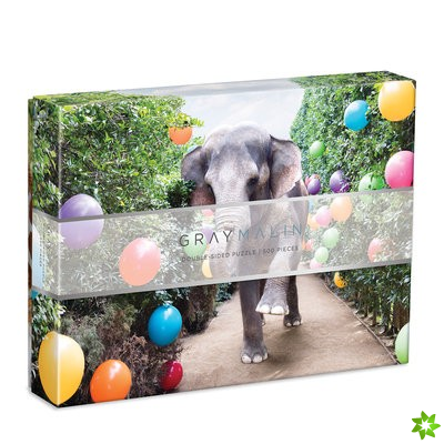 Gray Malin Party At The Parker 2-Sided 500 Piece Puzzle
