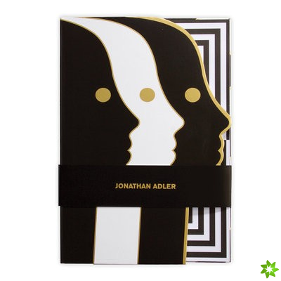 Jonathan Adler Atlas A5 Die-cut Notebook