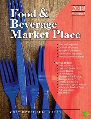 Food & Beverage Market Place: 3 Volume Set, 2018
