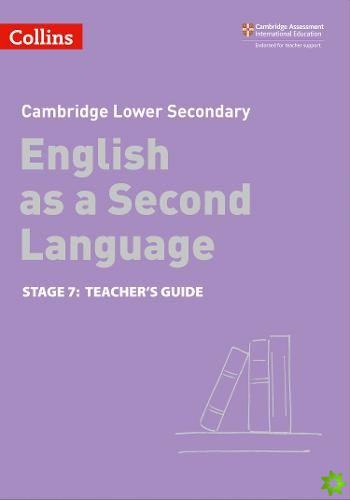 Lower Secondary English as a Second Language Teacher's Guide: Stage 7