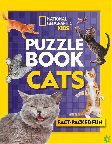 Puzzle Book Cats