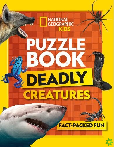 Puzzle Book Deadly Creatures