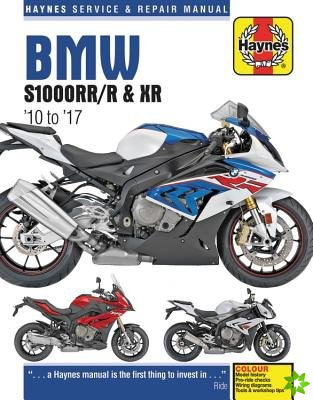 BMW S1000RR/R & XR Service & Repair Manual (2010 to 2017)