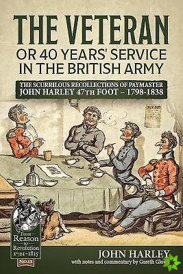 Veteran or 40 Years' Service in the British Army