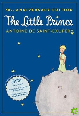Little Prince 70th Anniversary Gift Set (Book/CD/Downloadable Audio)
