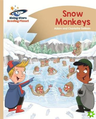Reading Planet - Snow Monkeys - Gold: Comet Street Kids