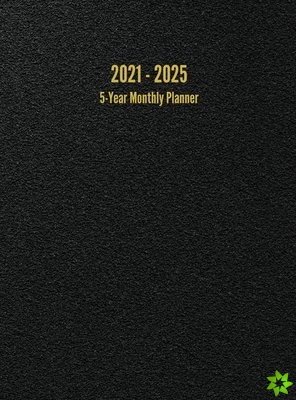 2021 - 2025 5-Year Monthly Planner