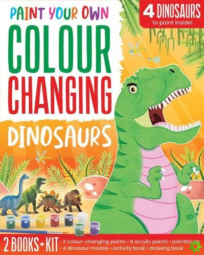 Colour Changing Dinosaurs