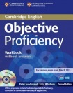 Objective Proficiency Workbook without Answers with Audio CD